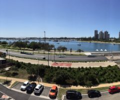 Amazing due North Broadwater views