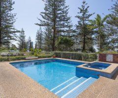 Unique & quintessential Main Beach lifestyle… 501 square metres of wonderful living
