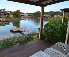 Waterfront Oasis – for lease unfurnished.